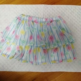 ニシマツヤ(西松屋)の子供服 キュロットスカート 西松屋 150cm(スカート)