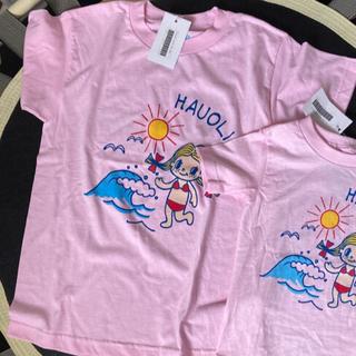 ハレイワ(HALEIWA)のMのみ ハッピーハレイワハワイ 親子ペア Tシャツ M XS(その他)