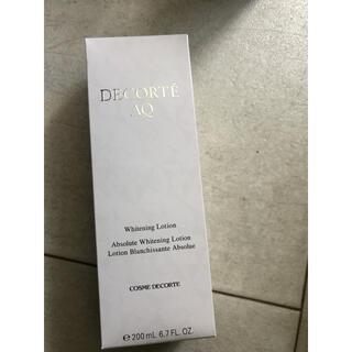 コスメデコルテ(COSME DECORTE)のコスメデコルテ aq ホワイトニング ローション 新品ま(化粧水/ローション)