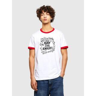 《今季アイテムお買い得》DIESEL ディーゼル Tシャツ ホワイト Sサイズ