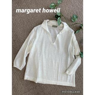 マーガレットハウエル(MARGARET HOWELL)のマーガレットハウエル 襟付きニット(カットソー(長袖/七分))