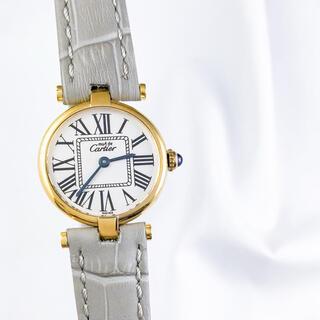 カルティエ(Cartier)の【仕上済】カルティエ ヴァンドーム オパラン SM ゴールド レディース 時計(腕時計)