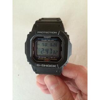 カシオ(CASIO)の[カシオ] 腕時計 ジーショック ソーラー G-5600E-1JF (腕時計(デジタル))