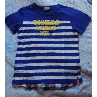 ダブルビー(DOUBLE.B)のDOUBLE. B  Tシャツ 140cm(Tシャツ/カットソー)
