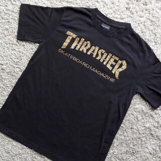 スラッシャー(THRASHER)のスラッシャー Tシャツ ヒョウ柄ロゴ(Tシャツ/カットソー(半袖/袖なし))