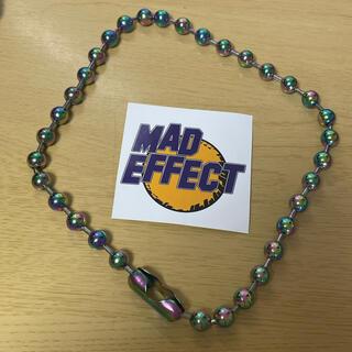 シュプリーム(Supreme)の【美品】mad effect トラニキ 玉虫ネックレス(ネックレス)