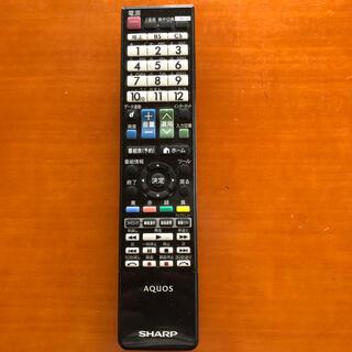 アクオス(AQUOS)のシャープ AQUOS TVリモコン ジャンク品(テレビ)