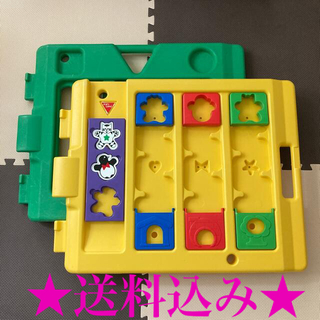 ニホンイクジ(日本育児)のミュージカルキッズランド DX 拡張 追加パネル 2枚セット(ベビーサークル)