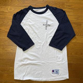 チャンピオン(Champion)のACERS INC. エーサーズ ラグラン カリフォルニアソーシャルクラブ(Tシャツ/カットソー(七分/長袖))