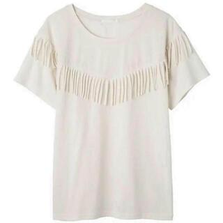 ピーチジョン(PEACH JOHN)のピーチジョン・フリンジトップM(Tシャツ(半袖/袖なし))