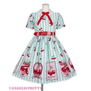 Angelic Pretty - Cherry stamp ワンピース 限定色 ミント