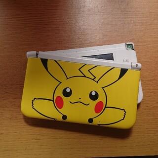 ニンテンドー3DS(ニンテンドー3DS)の【ジャンク品】3DSLL ピカチュウイエロー 箱付き(携帯用ゲーム機本体)