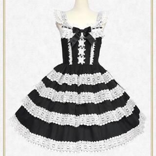 BABY,THE STARS SHINE BRIGHT - エリザベスジャンパースカート 黒 ベイビーザスターズシャインブライト