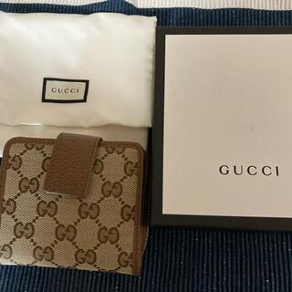 Gucci - 新品☆GUCCI グッチ 折り財布 ブラウン