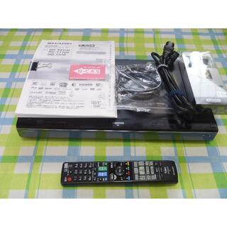 シャープ(SHARP)のHDD1TB 3番組録画 AQUOS ブルーレイレコーダー BD-T1100(ブルーレイレコーダー)