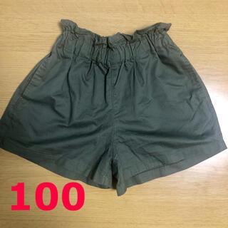 ニシマツヤ(西松屋)の女の子 パンツ 100 カーキ(パンツ/スパッツ)