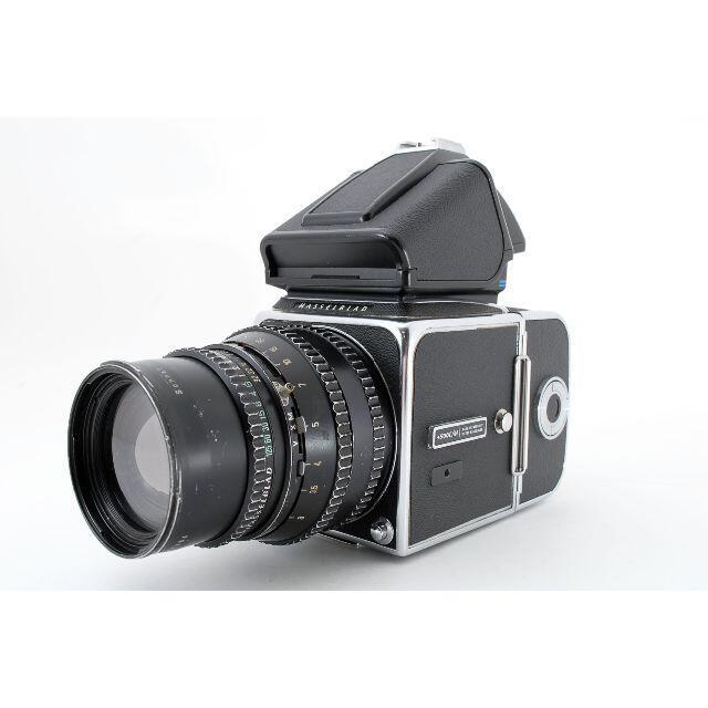HASSELBLAD 500C/M PM5 Sonnar 150mm #4363 スマホ/家電/カメラのカメラ(フィルムカメラ)の商品写真