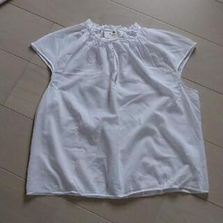 アニエスベー(agnes b.)のアニエスベー フレンチスリーブ ブラウス(シャツ/ブラウス(半袖/袖なし))