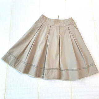 FOXEY - 極美品 新タグ 裾チュール飾り♡ふんわり王道清楚 洗えるフレアスカート 40