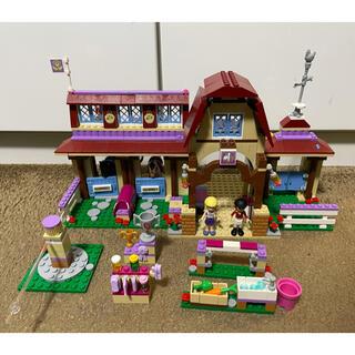 レゴ(Lego)のLEGO レゴフレンズ 41126 ハートレイク乗馬クラブ(積み木/ブロック)