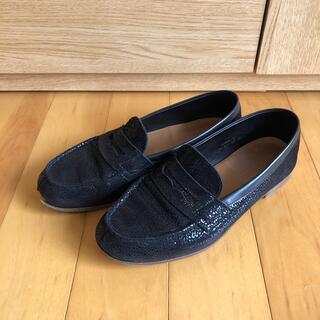 ジェーエムウエストン(J.M. WESTON)のJ.M Weston JMウエストン レディース ルモック ローファー 黒 5D(ローファー/革靴)