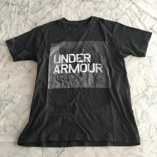 アンダーアーマー(UNDER ARMOUR)のUNDER ARMOURのTシャツ 黒(ウォーキング)