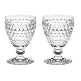 ビレロイアンドボッホ(ビレロイ&ボッホ)の新品Villeroy&Boch ボストンワインペアグラス(グラス/カップ)