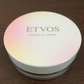 エトヴォス(ETVOS)のエトヴォス ミネラルUVパウダー(フェイスパウダー)