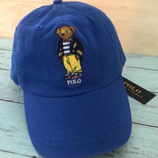 POLO RALPH LAUREN - ポロラルフローレン ポロベアー 綿BEAR ロゴ キャップ 野球帽 ブランド新品