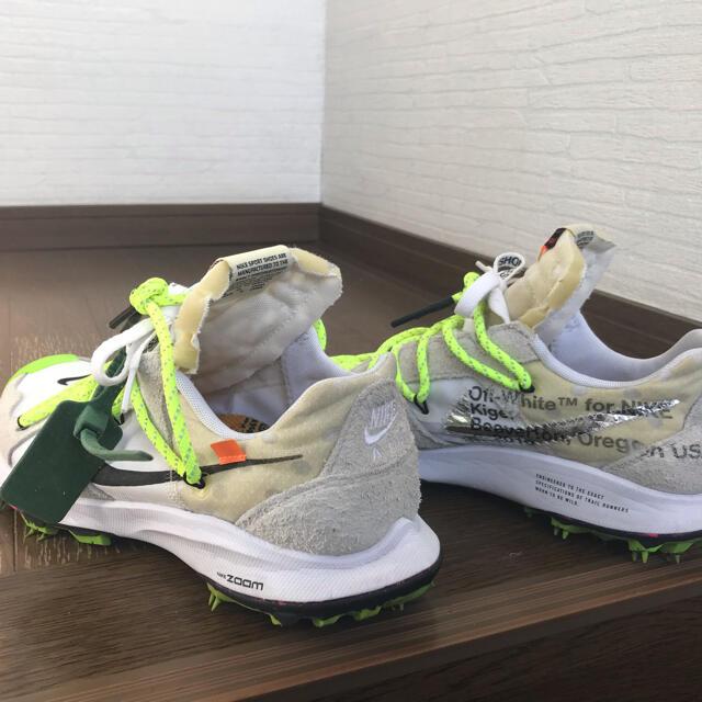 OFF-WHITE(オフホワイト)のきびだんご様専用 NIKE✖️off-white テラガイガー メンズの靴/シューズ(スニーカー)の商品写真