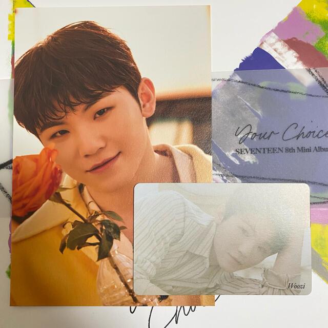 SEVENTEEN(セブンティーン)の最終価格SEVENTEEN Your Choiceウジポストカードhmvトレカ  エンタメ/ホビーのCD(K-POP/アジア)の商品写真