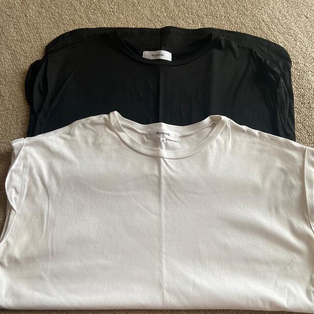Mystrada(マイストラーダ)のマイストラーダ  ノースリTシャツ レディースのトップス(カットソー(半袖/袖なし))の商品写真