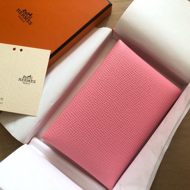 Hermes(エルメス)のエルメス カルヴィデュオ ローズコンフェッティ  レディースのファッション小物(財布)の商品写真