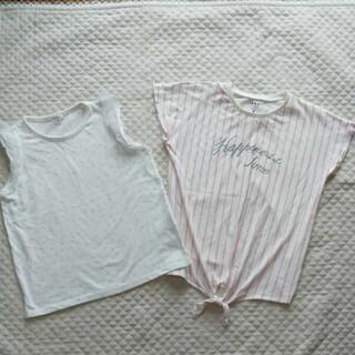 アーヴェヴェ(a.v.v)のikka、a.v.v Tシャツ セット 150㎝(Tシャツ/カットソー)