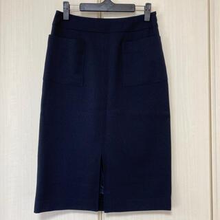 アストリアオディール(ASTORIA ODIER)の《ASTORIA ODIER》ネイビータイトスカート(ひざ丈スカート)