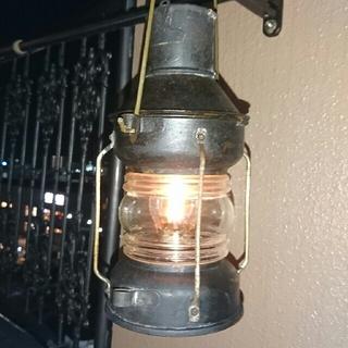 香港製オイル ランプ(ライト/ランタン)