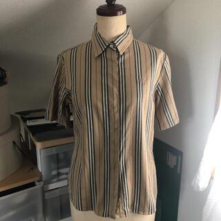 BURBERRY - 古着屋購入 Burberry ストライプシャツ