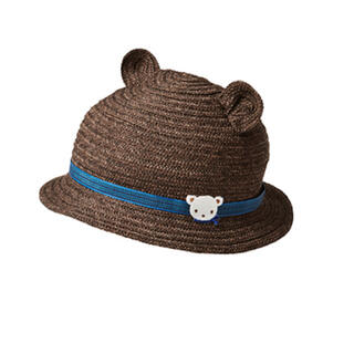 familiar - 【新品】familiar 麦わら帽子