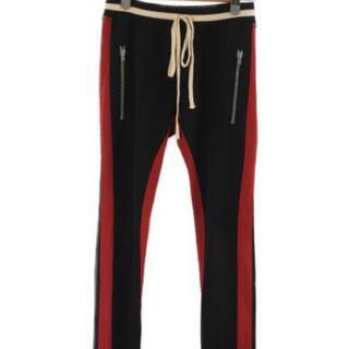 フィアオブゴッド(FEAR OF GOD)のレシート付き FEAR OF GOD Stripe Track Pants 黒(その他)