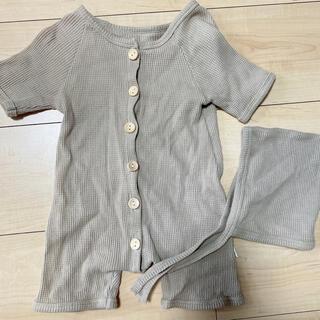 プティマイン(petit main)の韓国子供服 ロンパース 66(ロンパース)