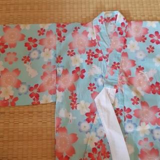 ニシマツヤ(西松屋)の90cm女の子 浴衣(甚平/浴衣)