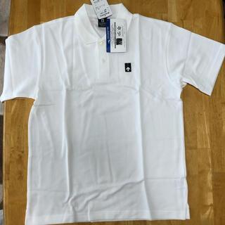 デサント(DESCENTE)のDESCENTEデサント・ポロシャツ ホワイト(ポロシャツ)