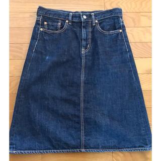 オムニゴッド(OMNIGOD)のOMNIGOD デニムスカート(ひざ丈スカート)