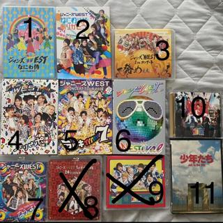 ジャニーズウエスト(ジャニーズWEST)のジャニーズWEST DVD.Blu-ray.CD(アイドルグッズ)