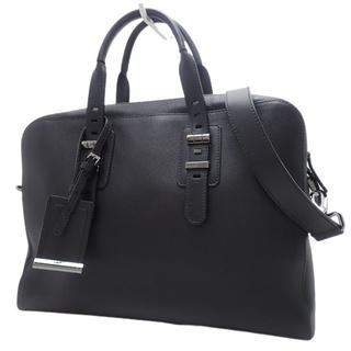 ブルガリ(BVLGARI)のブルガリ 2WAY ビジネスバッグ カーフ ブラック黒 40800072191(ビジネスバッグ)
