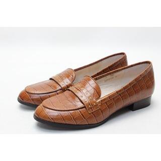 ピシェアバハウス(PICHE ABAHOUSE)のpiche ピシェ 牛革スタッズベルトローファー(39)美品(ローファー/革靴)