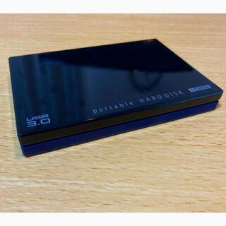 アイオーデータ(IODATA)のI-O DATA HDD ポータブルハードディスク 1TB USB3.0(PC周辺機器)
