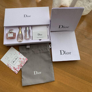 Diorノベルティ香水セット