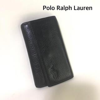 ポロラルフローレン(POLO RALPH LAUREN)のPolo Ralph Lauren 5連フック キーケース  ダークブラウン(キーケース)