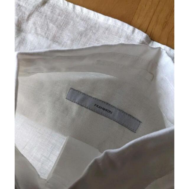 FRAMeWORK(フレームワーク)のFRAMeWORKの2WAYリネンシャツ レディースのトップス(シャツ/ブラウス(長袖/七分))の商品写真